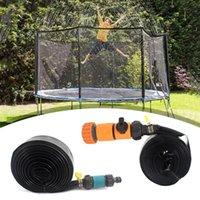 Watering Equipments Trampoline Sprinkler Summer Water Outdoor Garden Games Toy Sprayer Backyard Park Accessories Fun For Kids