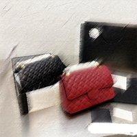 5A + Klassische Klappe Luxus Big Brand Bag Kaviar Getreide Rindsleder Mode Handtasche CF Frauen Brieftasche Goldene Kette Umhängetaschen Cross Body Fanny Pack in Designer Box T3