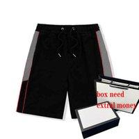 21ss Erkek Şort Moda Yüksek Sokak Elemanları Erkek Shortpants Mektup Baskılı Kısa Diz Boyu Rahat Tarzı Boyutu: M-2XL