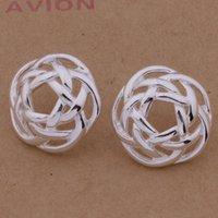 necklace Hollow Tennis Earrings Nelace 925 Sier Plated Set Xianmei