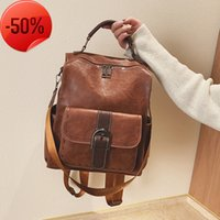 Autumn and winter high capacity student's versatile bag women's 2019 new Korean fashion Backpack
