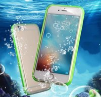 Waterproof phone Cases Shockproof Underwater Diving full Cover Bag Case For iPhone12pro 12 11 x xr 8 7 7plus 6 6s plus 5s