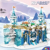 Building Blocks Creative The MOC Ice Cream Ballroom Model sets Assembling Bricks Children Educational Toys Christmas Gifts