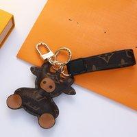 Key Fibbia collane portachiavi auto portachiavi fatti a mano portachiavi uomo donna collana collana borsa ciondolo accessori con scatola