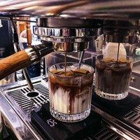 Ins vento vetro tazza di caffè tazza espresso ghiaccio latte retrò verticale whisky s occhiali set tazza vino