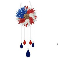 American Independence Day Party Supplies Wind Chime Decoration Family Dress Decor Decor Gift HWD6768