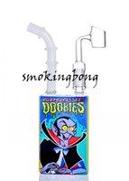 Eau en verre Banghalhs Boîtes Juice Boîte Huile Pièces Huile Heady Dab Plate-forme Pipe Pipe Pipe Fumeur Accessoires avec bol de 14mm