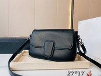 2021 Clássico Designer de Luxo Sylvia Marinha Mulheres Moda Com Arco Diamante Lattice Ombro Vintage Alta Qualidade Flap Sacos 27 * 17cm