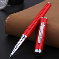 Picasso 607 High Grade Roller Kugelschreiber Silber Trim Sammlung Geschenk Retro Stil Blatt Muster Clip Kugelschreiber