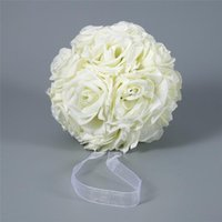 الزخرفية الزهور أكاليل لاين 15x21 سنتيمتر اليدوية الاصطناعي ارتفع تقبيل شنقا الكرة diy باقة المنزل حفل زفاف ديكور