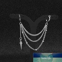Pc Idol Same Stud Earrings Punk Ear Bone Chain Korean Boys V Hip Hop Jewelry Accessories For Men Women Factory price expert design Quality Latest Style Original Status