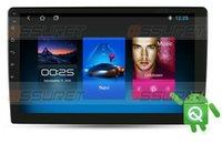 9 inç dokunmatik ekran 2G 16G ROM Android 10 2Din Evrensel Araba Radyo GPS Navigasyon Dört Çekirdekli Destek Direksiyon Kontrolü Araba DVD