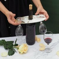 Party Decoration Silicone Wine Rack Resin Mold Glass Tray Epoxy Mould Making Bottle Cup Holder Craft Tool
