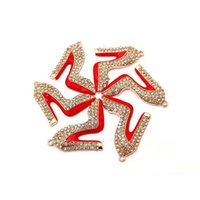 10pcs high heel shoe charms for women DIY jewelry accessories S0081-S0090