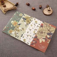 B5 Vintage Kraft Paper Notebook Copy Cover Blank Page Notepad Soft Copybook Daily Paper Office gift