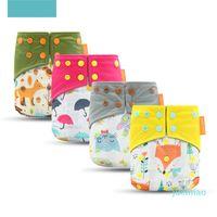 Happy Flûte lavable et réutilisable Baboo Charboo Pocket Tissu en tissu avec une coupe d'ouverture 3-15kg bébé 874 Y2