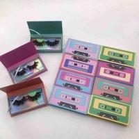 2021 Новые поступления пользовательских лашковых коробок упаковки жесткая магнитная кассета 25 мм 3D норковая ресница Real Mink Reelashes Vendor