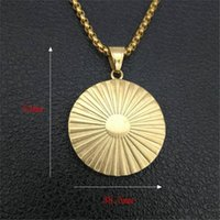 Chains Iced Out Masonic Necklace & Pendant With Stainless Steel Chain Gold Color Bling Cubic Zircon Men's Hip Hop Jewelry For Gift