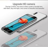 2022 Original Mini Mobiltelefon Melrose S9 plus 4G LTE kleinste Smartphone 5MP Kameras MTK6737 Quad Core Android7.0 Fingerabdruck-ID-Telefon