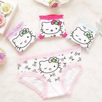 Panties Children kids baby Girls Underwear Briefs Cartoon 4pcs lot(2-9years) Character