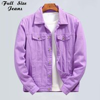 Plus Size Outerwear & Coats Candy Color Cowgirl Denim Jackets 4xl Womens Spring Men Bomber Jean Jacket Ladies Oversized Casual Couple Outfit