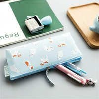 Pencil Cases 1Pcs Sell Jelly Cat Silicone Pencils Case PencilsBags Durable Large Capacity School Supplies Stationery Student Bag