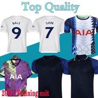 21 22 Kane Son Bergwijn Jerseys 2122 Lucas Spurs Dele Dele Tottenham Futebol Camisa Bale Ndombele Homens Kit Kit Treinamento Terno