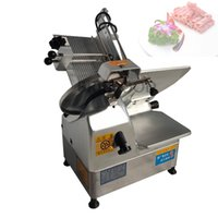 QY-32Fully Automatic Beef Roll Cutter  Meat Slicer Machine Lamb Skiver Cheese Slicing maker Venison Skiving manufacturer
