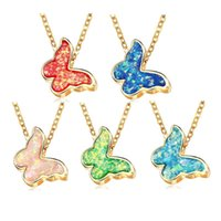 Charm Small Animal Pendant Necklace Design Personality Beautiful Bling Stone Butterfly Jewelry For Women Chains