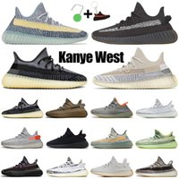 kanyerunningshoes women mens trainers sport sneakers static reflective Ash Blue Pearl Stone Bred Cinder Carbon men Chaussures 36-48 wholesale