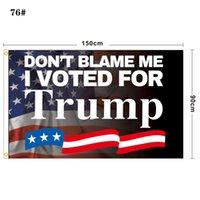 DHL Blue Red Trump Flag 2024 Bandiera elettorale Banner Donald Trump Flag Mantieni America Grande di nuovo Ivanka Trump Flags 150 * 90cm