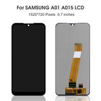 """Paneles táctiles de teléfono celular originales 5.7 """"para Samsung Galaxy A01 A015 SM-A015F A015G A015DS Pantalla LCD Pantalla de reemplazo digitalizador"""