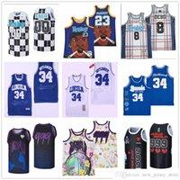 NCAA cousue maillot de basketball de basket-ball vendredi 23 Smokey Friday's 00 Craig 8 Debo Jésus Shuttsworth Lincoln 34 Ray Allen Juice Wrld 999 Lyrique Limonade Lyrique