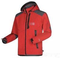 2021 Yeni Yüz Kuzey Erkek Tasarımcı Kış Coat Rahat Katı Renk Ceket Atletik Kapşonlu Rüzgarlık Sıcak Ceket Asya Boyutu Dorp Nakliye