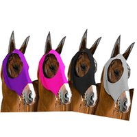 معدات صافي غزل تنفس الحصان مكافحة البعوض مكافحة الذباب قناع الوجه قناع الفروسية