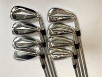 Ferri da golf da uomo JPX921 Set di ferro Club in ferro 5-9PGS (8pcs) Albero in acciaio flessibile R / S con copertura della testa completa di