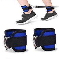 Фитнес-корпоративные ремни мягкие двойные D-кольца регулируемые ограждения ремень безопасности потрясающие ноги тренировочный тренажерный зал. Обучение нейлона