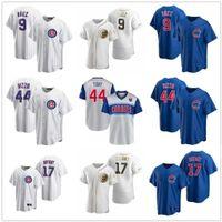 2021 benutzerdefinierte Baseball-Trikots Anthony Rizzo Javier Baez Kris Bryant Kyle Schwarber Jason Heyward Albert Almora Jr. David-BOTE-Männer Frauen Jugend