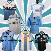 2000 1998 1998 1991 1992 Lazio الرجعية مانشيني 2020 2021 120th Lazio Soccer Jersey Kit 20 21 Immobile Luis Bastos Alberto Sergej كرة القدم قميص