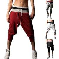 Pantalones para hombres Ropa Hombres Pathwork Casual Tether Elástico Diseño Corta Sweetpants Fashion Verano Gimnasio Deporte 320