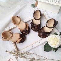 어린이 샌들 소녀 패션 아파트 아이들 유아 공주 나비 - 매듭 드레스 결혼식 파티 소녀 신발 부드러운 21-30