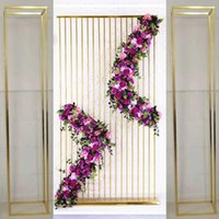3PCS Shiny Gold Luxury Column Pillar Plinth Frame Wedding Decoration Welcome Backdrops Flower Arch Grand Event Party Stage Birthday Background Balloons Rack