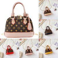 Kinder Geldbörse Handtaschen Mini Tote Eine Schulter Messenger Bags Herbst und Winter Mädchen Muschel Tasche Modell Kinder Handtasche Mode 6Color G323xk8