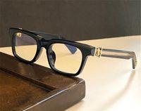 Design de óculos de moda ver você no chá óculos ópticos quadrados quadrado retro estilo simples e versátil qualidade superior com caixa pode fazer lentes de prescrição