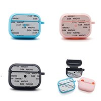 Sublimation Blank Earphone Cover Waterproof Simplicity Earphones Covers Men Women Wireless Headsets Case Protective Portable OWE7086
