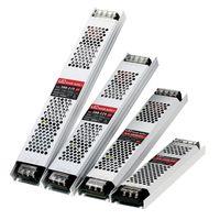 Alimentation ultra mince d'alimentation DC 12V 24V Transformateurs d'éclairage 60W 100W 150W 200W 300W 400W AC190-240V Pilote pour bandes LED