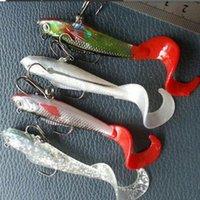 Рыба в форме дороги подсуга мягкая приманка хвостовой пакет свинцовые рыболовные снаряжения
