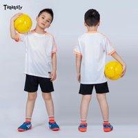 فوتبول زي التدريب الرياضي ارتداء كرة القدم الفانيلة البدلة الرياضية للأطفال تخصيص كرة القدم موحدة الشباب كرة القدم