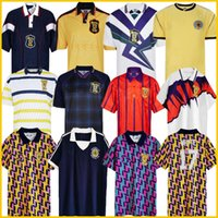 1988 1991 1992 1993 Escocia Retro Fútbol Jersey 88 93 McCoist Bowman McLeish McInly Mo Johnston Vintage Classic Classic Football Shirt 89 90 91 92 93 94 95 96 97 98 99