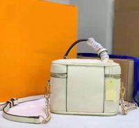 النساء حالات التجميل تنقش الجلود أنيقة مصمم إلكتروني زهرة أكياس الكتف حزام داخل جيب مزدوج الرمز البريدي الغرور حقيبة